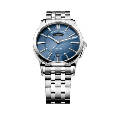 Maurice LaCroix Pontos Day + Night Automatic // PT6158-SS002-43E-1