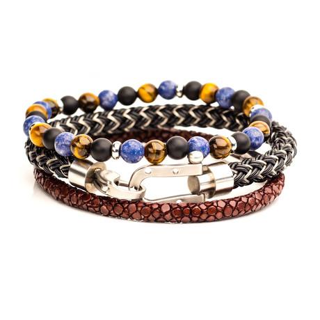 STAX Bracelet Set // No. 6