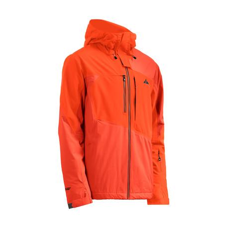 Highlands Jacket FX // Red Orange + Spicy Orange (XS)