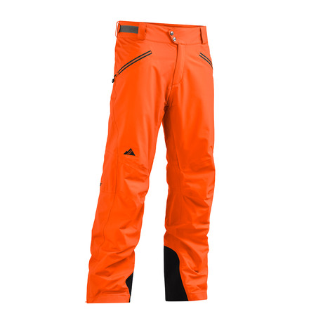 Highlands Pant FX // Red Orange (XS)