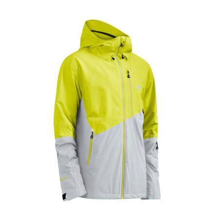 Exhibition Jacket FX // Sulphur Spring + Glacier Gray