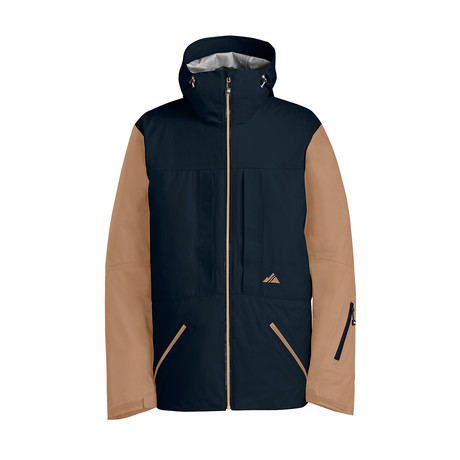Nomad Jacket // Navy + Tan (XS)