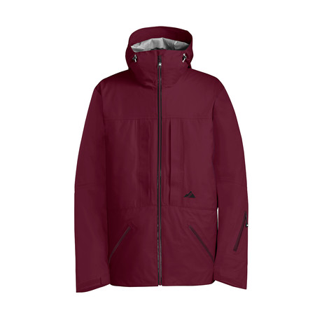 Nomad Jacket // Wine (XS)