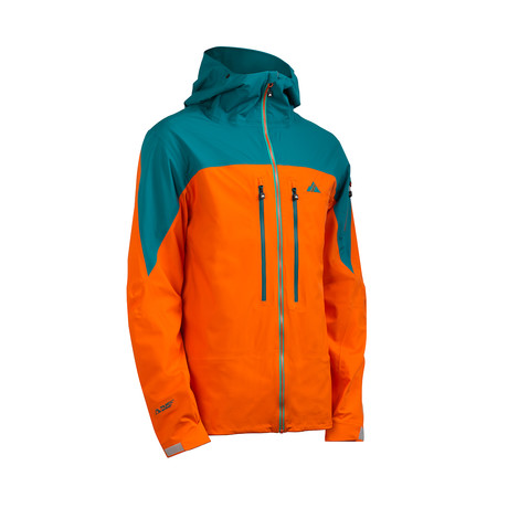 Cham2 Jacket // Red Orange + Fanfare (XS)
