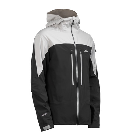 Cham2 Jacket // Pirate Black + Glacier Gray (XS)