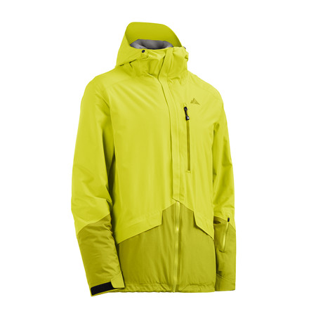 Theo Jacket // Sulphur Spring + Apple Green (XS)