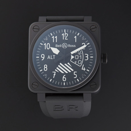 Bell & Ross Aviation Altimeter // BR0196-ALTIMETER // Store Display