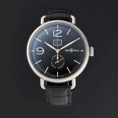 Bell & Ross Vintage Grande Date Reserve Automatic // BRWW190-BL-ST/SCR // Store Display