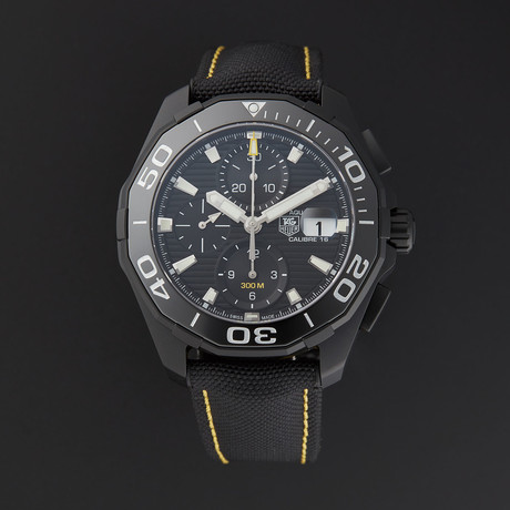 Tag Heuer Aquaracer Automatic // CAY218A.FC6361 // Store Display