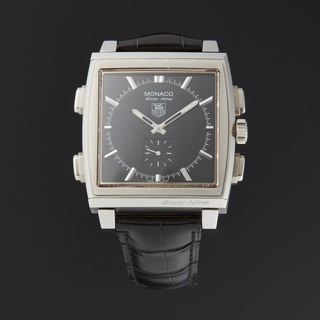 Tag Heuer Monaco Sixty-Nine Manual // CW9110.FC6177 // Store Display