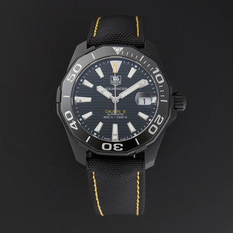 Tag Heuer Aquaracer Automatic // WAY218A.FC6362 // Store Display