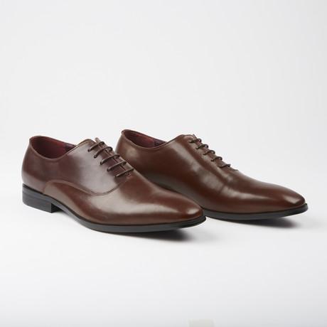 Stockbridge Dress Formal Oxford // Tan Bordeux (US: 7.5)