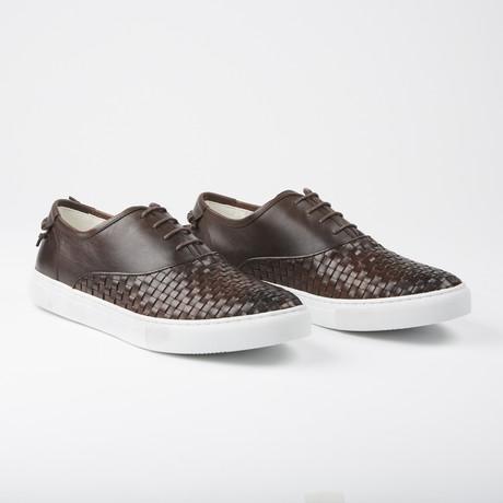 Newhaven Casual Low-Top Sneakers // Dark Brown (US: 7.5)