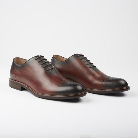 Marchmont Dress Formal Oxford // Bordeaux (US: 7.5)
