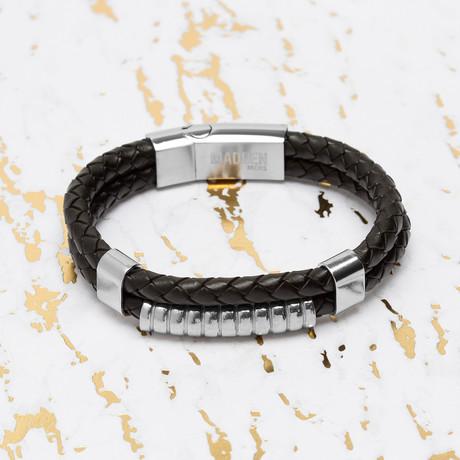 Steve Madden // Ribbed Bar Bracelet
