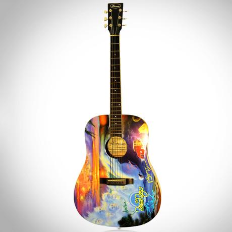 Beach Boys // Band Autographed Guitar
