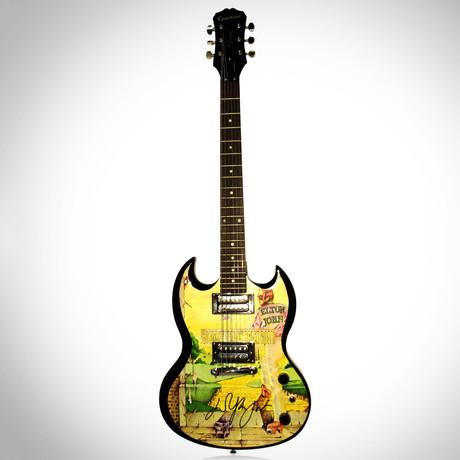 Elton John // Autographed Guitar