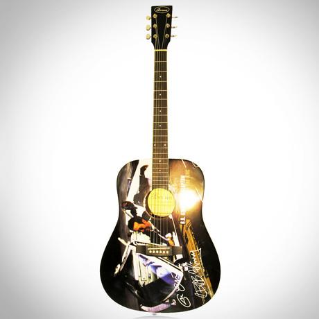 Eric Clapton + B.B. King // Dual Autographed Guitar