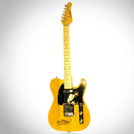 Keith Richards // Autographed Guitar