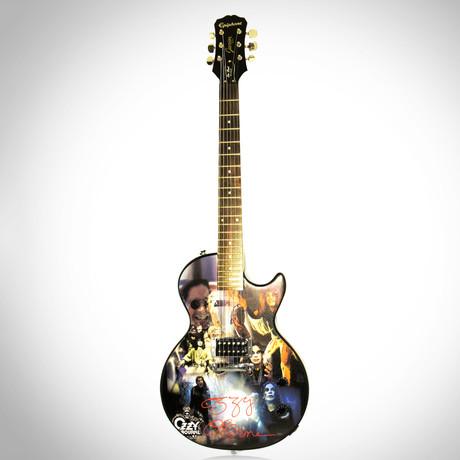 Ozzy Osbourne // Autographed Guitar
