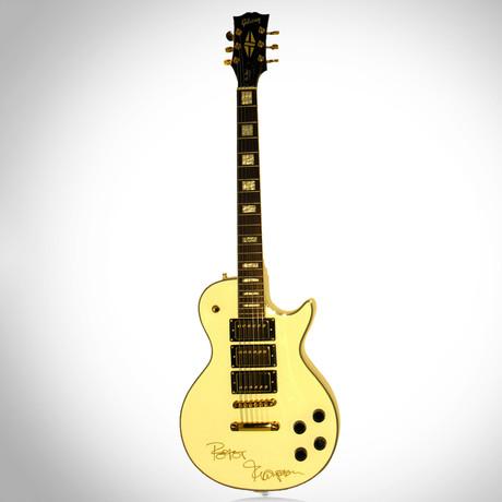 Peter Frampton // Autographed Guitar
