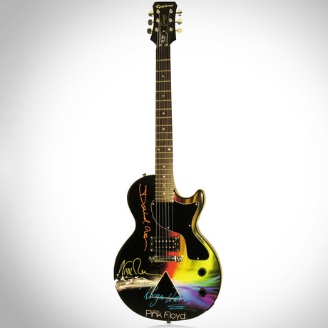 Pink Floyd Dark Side Of The Moon // Band Autographed Guitar