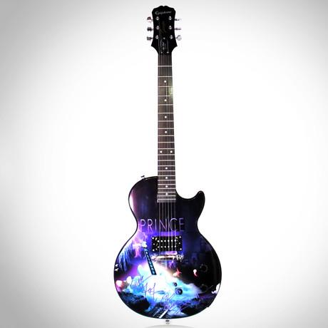 Prince // Autographed Guitar