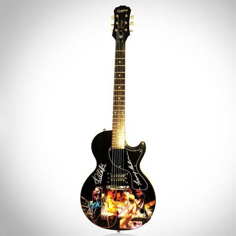 U2 // Band Autographed Guitar