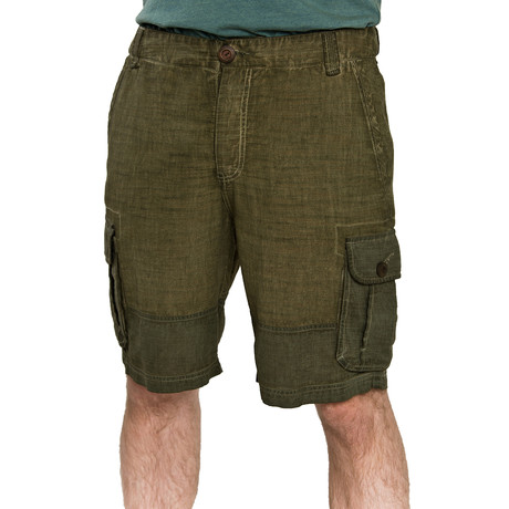 Olive Shorts // Green (S)