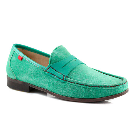 Union Square Suede Loafer // Green (US: 7)