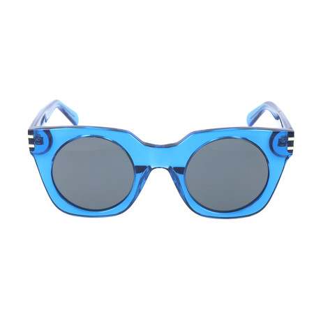 Gregor Sunglasses // Transparent Blue