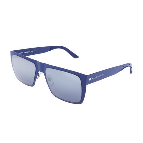 Unisex 55-S 6VX Sunglasses // Matte Blue