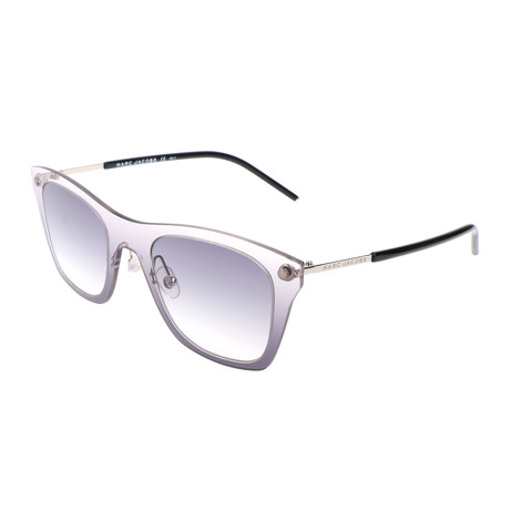 Marc Jacobs // Women's Bendel Sunglasses // Clear Grey + Black