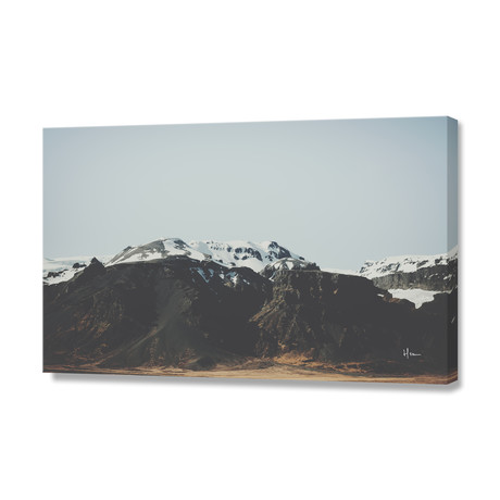 "Passing The Mountains // Stretched Canvas (24""W x 16""H x 1.5""D)"