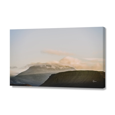 "Icelandic Mountains II // Stretched Canvas (24""W x 16""H x 1.5""D)"