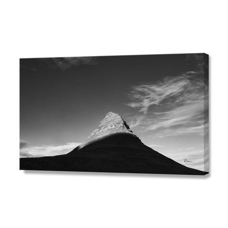 "Kirkjufell // Stretched Canvas (24""W x 16""H x 1.5""D)"