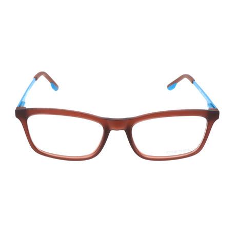 Unisex DL5048 Frames // Frosted Orange + Blue