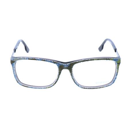 Unisex DL5166 Frames // Black + Crystal