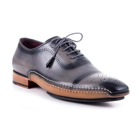 Premium Miguel // Grey + Black + Camel (Euro: 40)