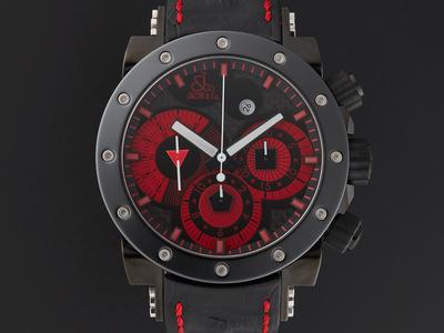 Photo of Jacob & Co. Luxury Statement Timepieces Jacob & Co. Epic II Chronograph Automatic // E15 // Store Display by Touch Of Modern