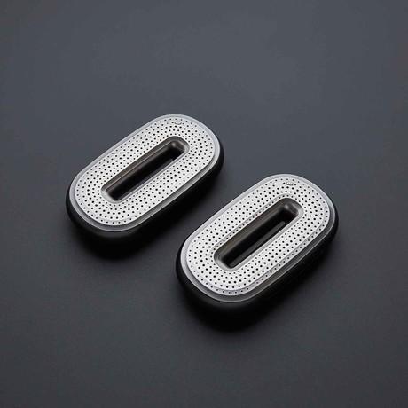 Mini-O Portable Bluetooth Speaker // Black // Set of 2