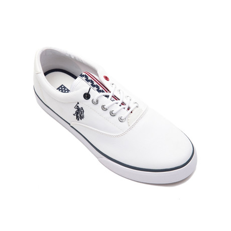 Dalan Canvas Sneakers // White (Euro: 40)