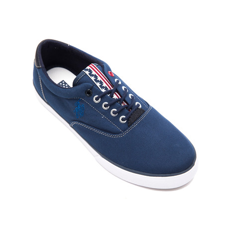 Dalan Canvas Sneakers // Dark Blue (Euro: 40)