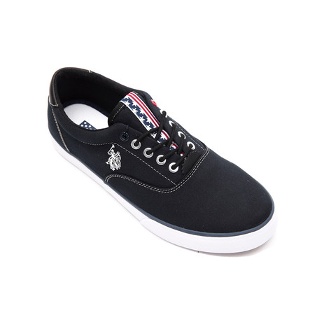 Dalan Canvas Sneakers // Black (Euro: 40)