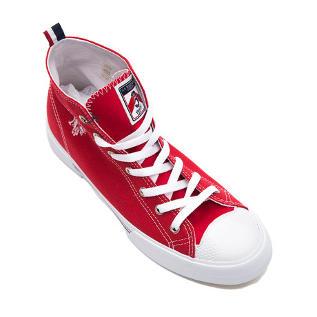Rhin Sneakers // Red (Euro: 40)