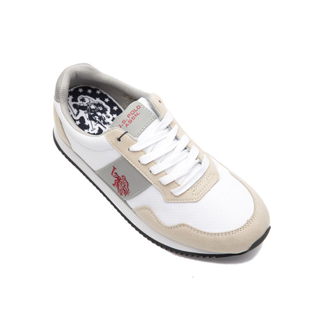 Natts Nylon Sneakers // Bianco + White (Euro: 40)