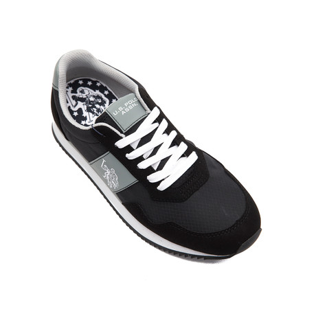 Natts Nylon Sneakers // Nero + Black (Euro: 40)