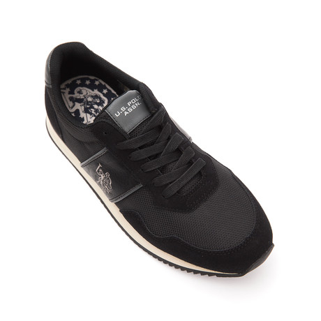 Natts Aspen Sneakers // Black + Iron (Euro: 40)