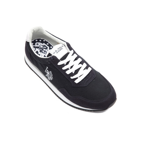 Raji Canvas Sneakers // Dark Blue (Euro: 40)