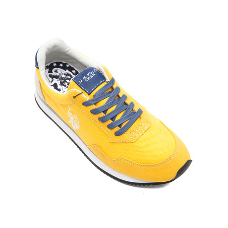 Raji Canvas Sneakers // Yellow (Euro: 40)